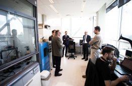 Europos branduolinių mokslinių tyrimų organizacijos CERN atstovų vizitas