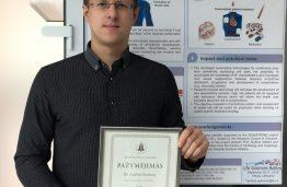 Andrius Petrėnas – LMA jaunųjų mokslininkų stipendijų konkurso laureatas